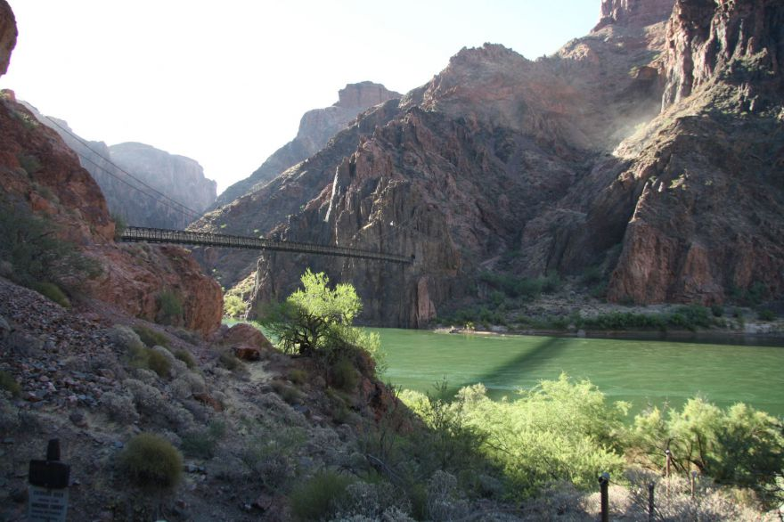 Brug over de Colorado River
