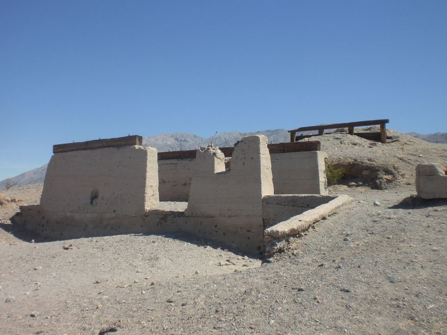 Ruine in Death Valley National Park