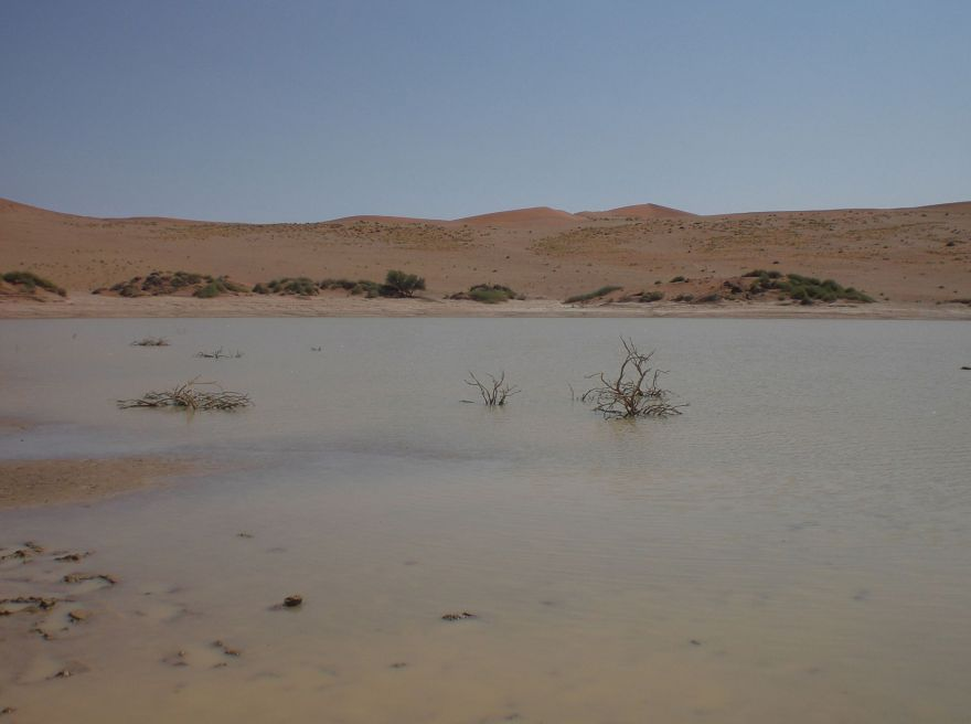 Water in Sossusvlei