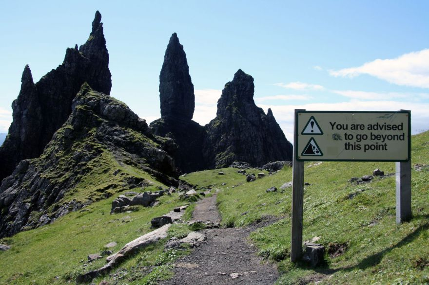 Old Man of Storr Isle of Skye