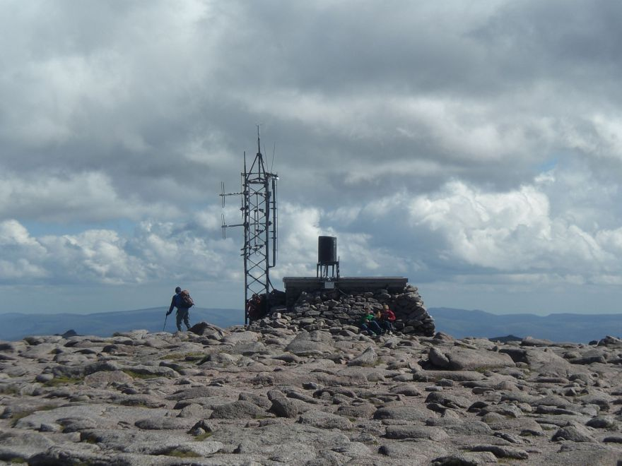 Weerstation of Gairn Gorm